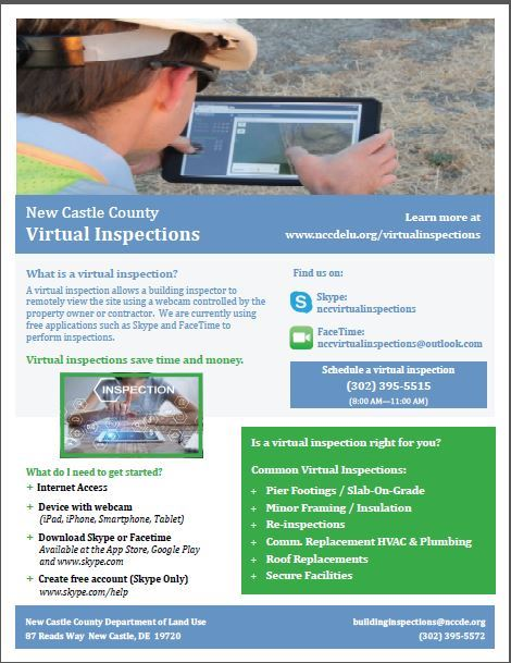 Virtual Inspection flyer