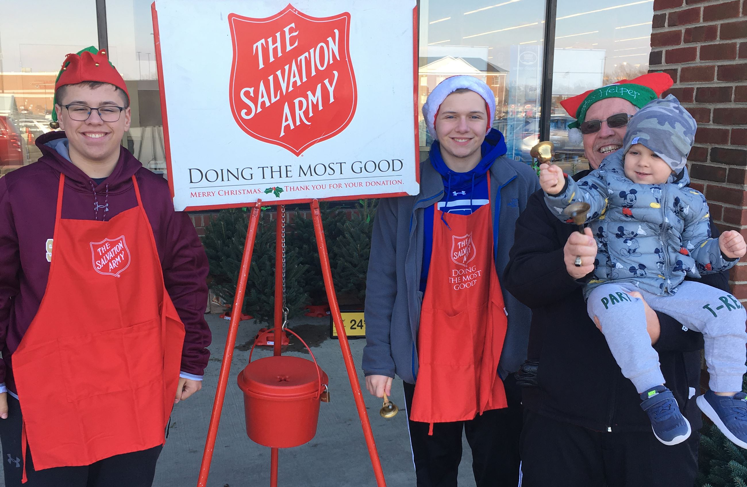 Salvation Army 2018
