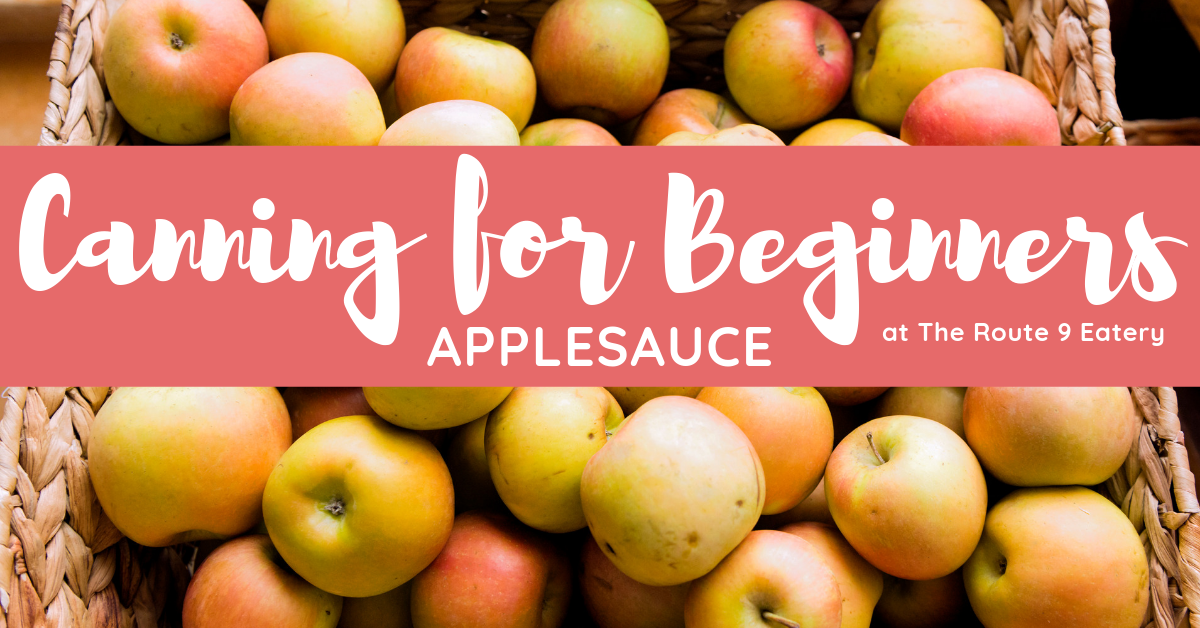 Canning for Beginners: Applesauce