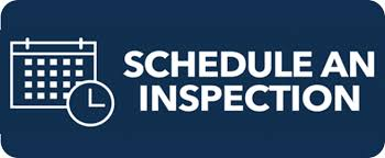 Inspection Scheduling Opens in new window